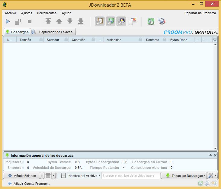 JDownloader 2 Beta