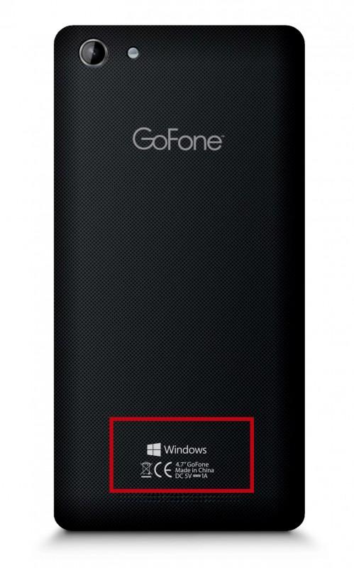 GoFone GF47W Windows