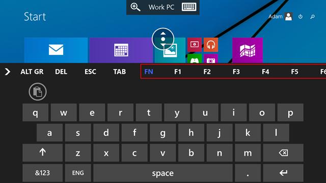 Microsoft Remote Desktop Preview 2