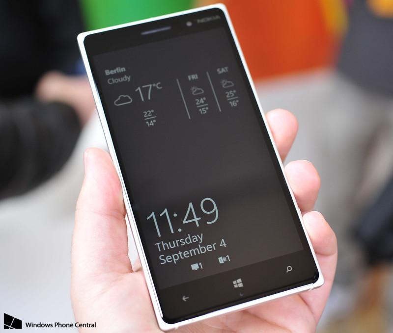 Nuevo Glance Lumia 830