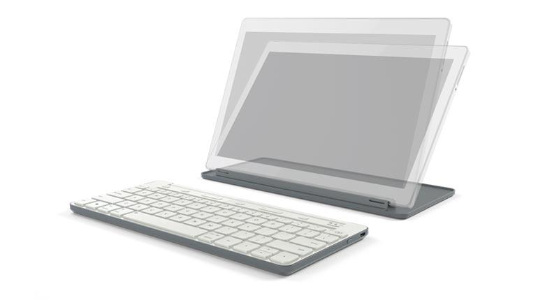 Universal Mobile Keyboard gris