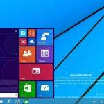 Windows 9 Preview Build 9834 - Menu de inicio
