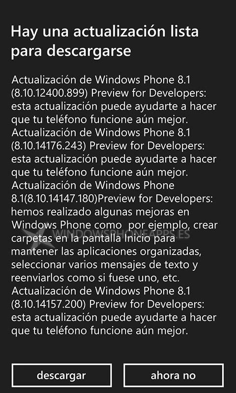 actualización wp81 -2