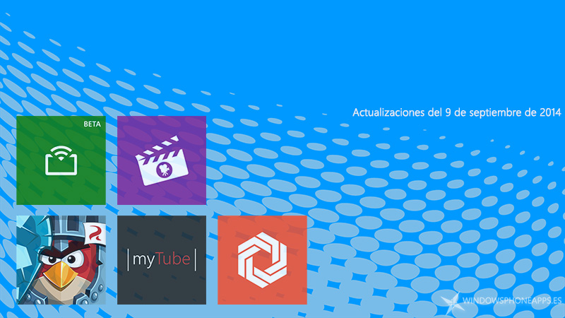 Actualizaciones de apps y juegos para Windows Phone