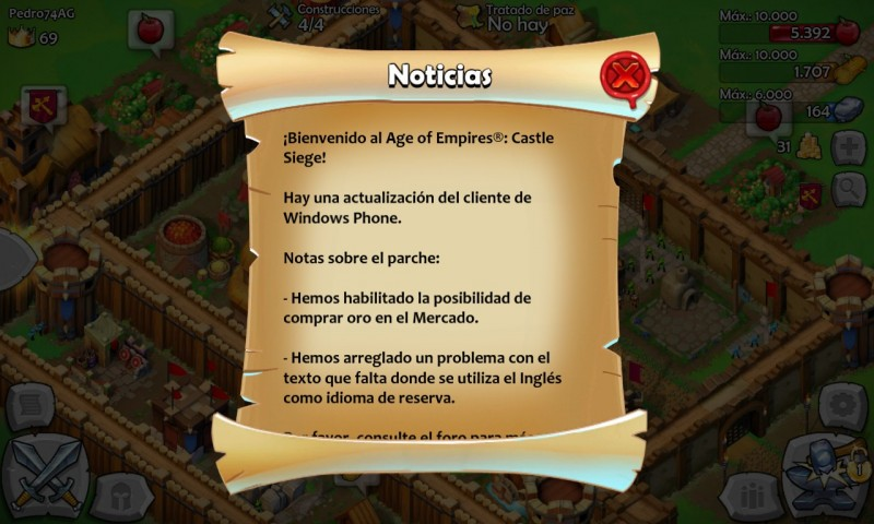 Age of Empires recibe una actualización