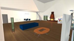 Foto de profundidad del comedor en Live Interior 3D Pro