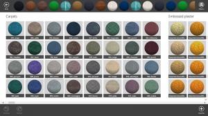 Tercera imagen de los materiales en Live Interior 3D Pro