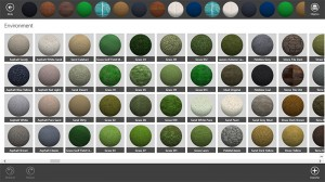 Quinta imagen de los materiales en Live Interior 3D Pro
