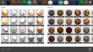 Séptima imagen de los materiales en Live Interior 3D Pro
