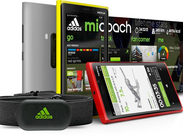 miCoach - Windows Phone