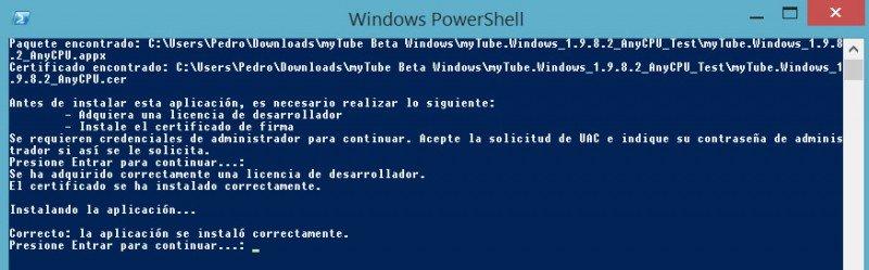 Mytube Beta para Windows