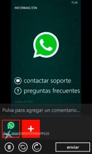 Nuevas opciones en el envío de imágenes en WhatsApp