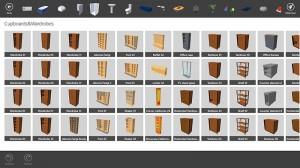Cuarta imagen de los objetos en Live Interior 3D Pro