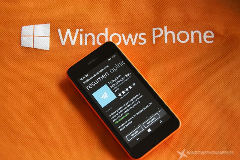 Telegram para Windows Phone 8