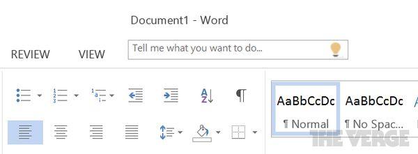 Tell Me en Office