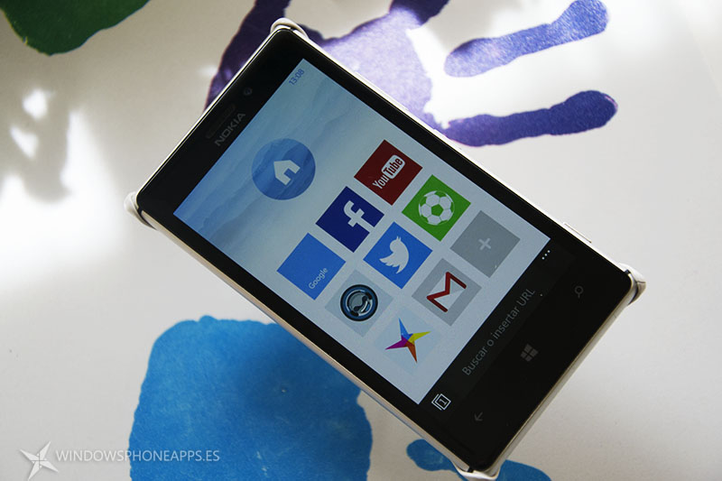 UC Browser 4.0 para  Windows Phone