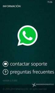 WhatsApp Beta 2.11.552
