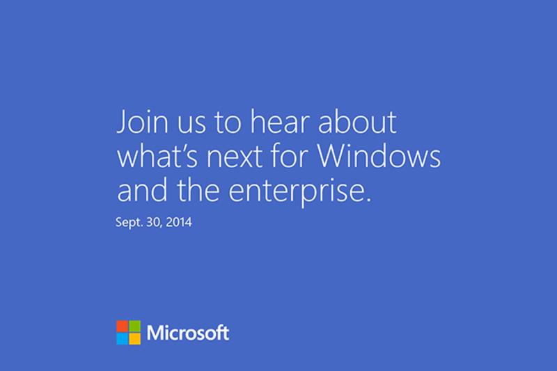 Windows 9 Threshold invitacion