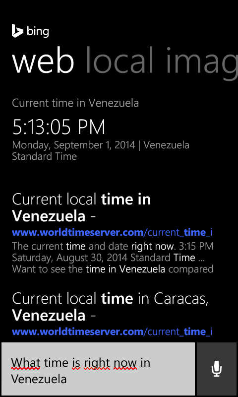 Cortana Hora