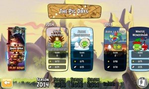 Rovio actualiza Angry Birds Seasons y Angry Birds Star Wars