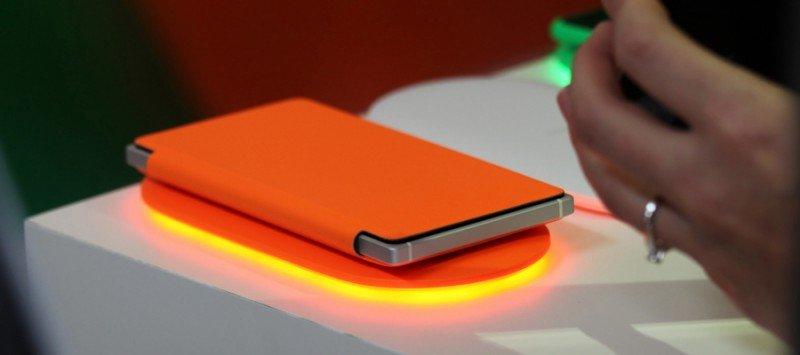 Carga inalámbrica Nokia Lumia 830