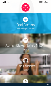 Skype Qik la aplicación de mensajería de video grupal de Skype