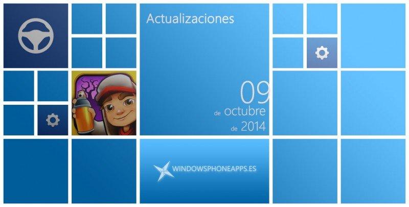 actualizaciones 9 octubre 2014 Microsoft Mobile