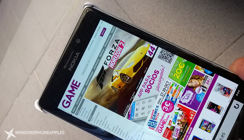 App Game para Windows Phone