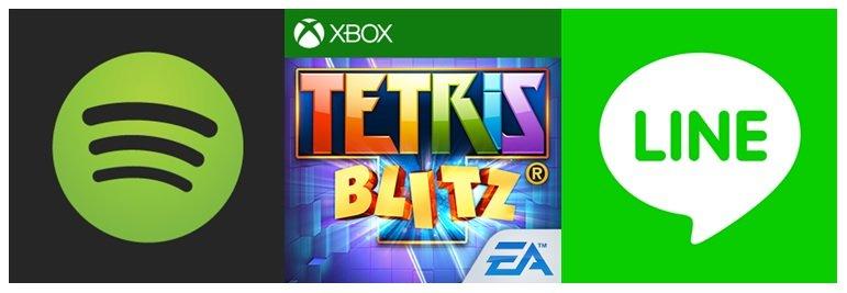 Tetris, line, Spotify