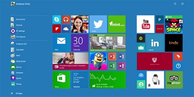Continuum de Windows 10