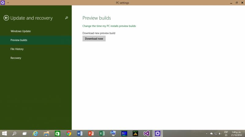Build 9860 de Windows 10 Technical Preview lista para descargar