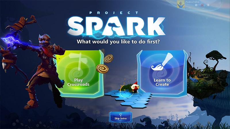project spark windows 8
