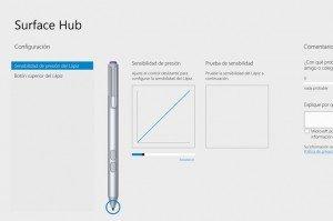 Surface Hub, configuración