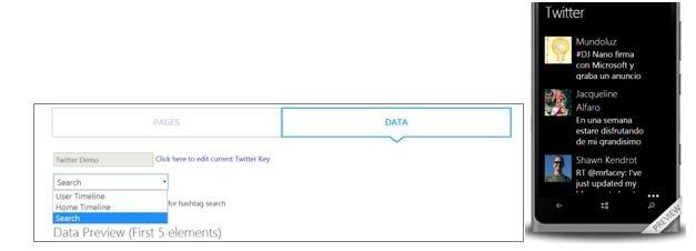App-Studio-twitter-integracion