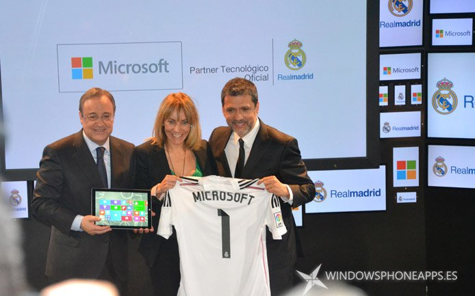 Plataforma digital Real Madrid - Microsoft - foto