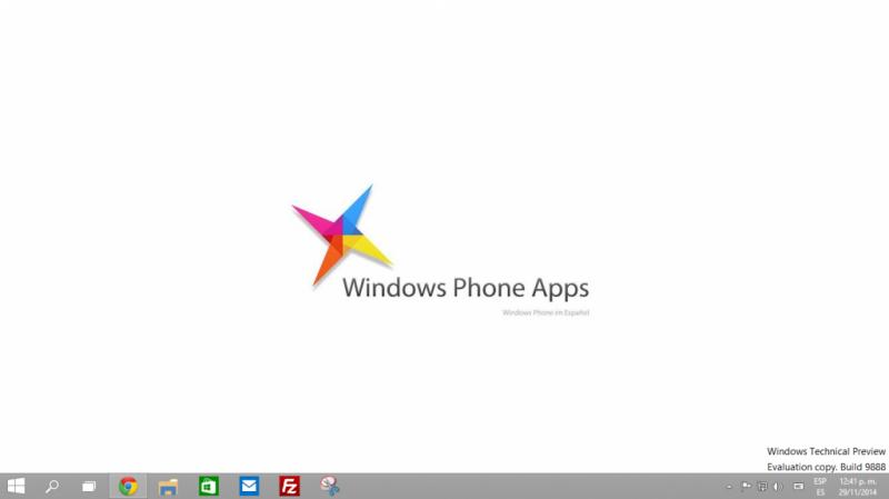 Windows 10 Build 9888