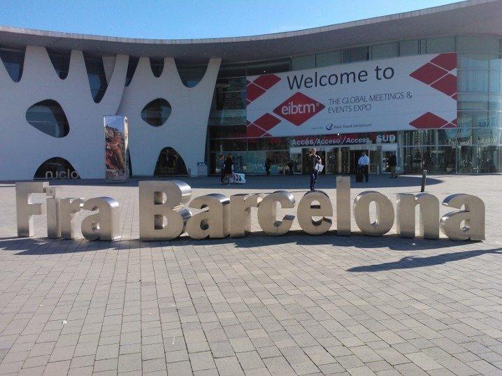 Fira de Barcelona en el Smart City Expo World Congress