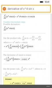 WolframAlpha ya tiene su aplicación oficial para Windows Phone