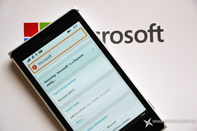 WolframAlpha Windows Phone