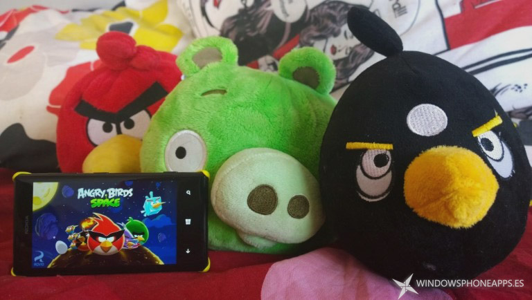 Angry Birds gratis en  Windows Phone