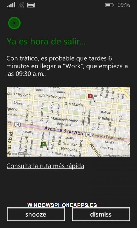 Cortana en Español