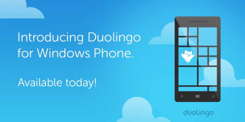 duolingo for windows phone