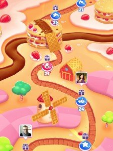 Pastry Paradise la alternativa a Candy Crush de Gameloft