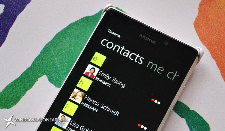 Threema para Windows Phone