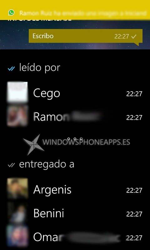 "WhatsApp incorpora los doble ""check"" azul confirmando lectura de mensajes [Actualizado 2]"