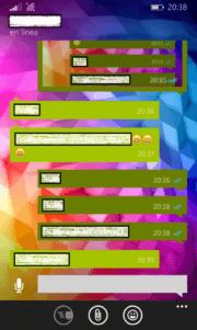 """Doble """"check"""" azul en mensajes de texto de WhatsApp"""
