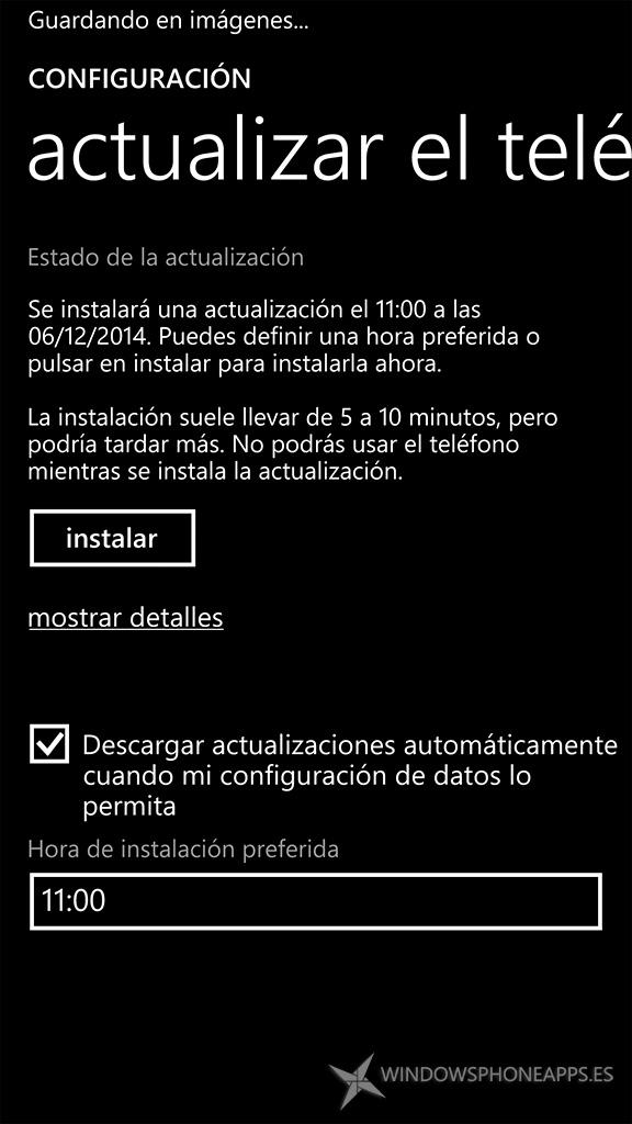 Actualización de la PFD que incluye Cortana en español lista para instalar