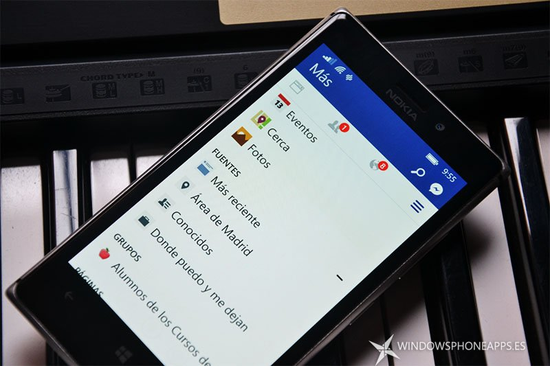 Facebook y Messenger suspenderán el soporte para sus apps en Windows Phone 8 y Windows 8 a finales de mes