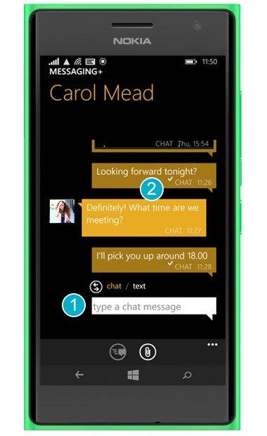 mensajes plus Nokia