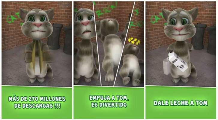 Talking Tom llega finalmente a Windows Phone
